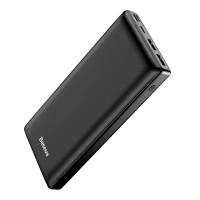 Baseus varavirtalähde järisyttävällä 30000mAh kapasiteetillä takaa sen, että lataat puhelimesi useaan otteeseen! Tämä virtapankki on myös yllättävän kompakti.