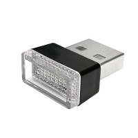 USB LED-valo jolla lisäät värikkään valaistuksen helposti minne tahansa. Pikkuruinen valo saa virtansa mistä tahansa USB-portista vaikkapa autossa tai kotona.