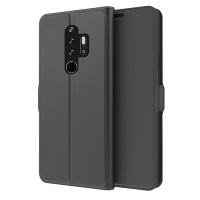 Flip cover -suojakotelo Blackview BV6300 Pro -älypuhelimeen antaa suojan puhelimellesi naarmuja ja kolhuja vastaan. Suojakotelossa on myös korttitasku.