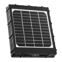 Solcellsladdare för åtelkamera med powerbank på 8000 mAh. Smidigt tillbehör till dig med åtelkamera som inte vill byta batterier hela tiden.