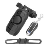 USB-ladattava polkupyörän varashälytin on kätevä laite torjumaan varkauksia. Kaukosäätimellä ohjattava kovaääninen 110 desibelin hälytin varmasti suojaa pyörääsi.