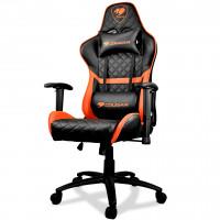 Cougar Armor One gaminstol erbjuder förstklassig komfort och egonomi. Denna stol är tillverkad av hållbara premiummaterial för lång och säker användning.