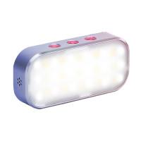 Med BomShot RGB LED-panel kan du ta bilder med riktigt fräcka färgeffekter. Trådlös enhet med ett internt batteri garanterar en utmärkt användarupplevelse.