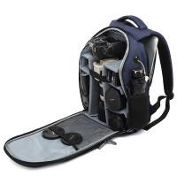 Kamerareppu zoomiobjektiiville on todella kompakti ja edullinen kuvaajalle suunniteltu reppu. Monilokeroinen reppu on juuri sopiva pitkälle objektiiville.