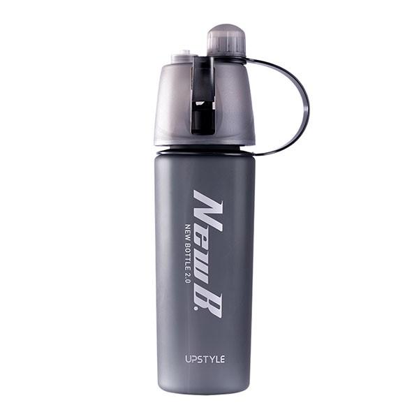 Vattenflaska med sprayfunktion
