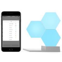Lifesmart Quantum tunnelmavaloilla luot upeita valotaideteoksia seinällesi tai pöydällesi. 16m väriä, ääniohjaus ja musiikin mukaan vaihtuva valaistus!