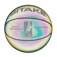 Läcket skimrande basketboll i slitstark material. En läcker basketboll i storlek 7 lämplig för både inomhus- och utomhusbruk.
