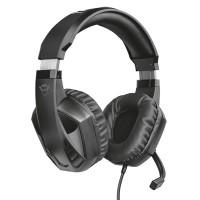 Trust GXT 412 Celaz gaminghörlurar är utformade för att passa många plattformar. 50 mm element som täcker hela örat ger utmärkt ljudkvalitet.