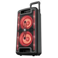 Trust Klubb MX GO party-kaiutin RGB-valoilla ehdoton varuste joka juhliin. Tästä bile-paketista löytyy niin erikoisvaloefektit, bass boost kuin karaoke-toimintokin.