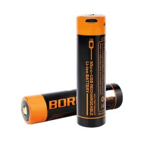 Boruit 18650 chargeable battery