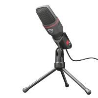 Trust GXT 212 Mico kondensatormikrofon är perfekt för både spel och streaming. Den högkvalitativa kondensatormikrofonen garanterar tydlig och oförvrängd ljudkvalitet.