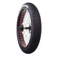 X-TREME fatbiken takarengas on täydellinen ja alkuperäinen varaosa jokaiseen 26 tuumaisilla vanteilla varustettuun fatbike-pyörään. CST renkaalla ja X-TREME vanteella.