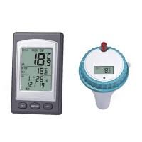 Langaton veden etälämpömittarin avulla voit seurata altaan/paljun lämpötilaa vaikka olohuoneesta, tämän mittarin kanssa ei tarvitse rampata tarkastamassa mittaria.