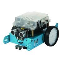 Makeblock mBot robottiauto opettaa koodaamista ja robotiikkaa mielenkiintoisella tavalla. Tällä voit ajaa kilpaa, ajaa viivaa pitkin tai tuunata ihan omanlaiseksi.