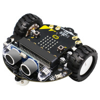 Yahboom Tiny:bit robottiauto opettaa robotiikan alkeita hauskalla tavalla. Tästä autosta löytyy huikean monta ominaisuutta ja säätömahdollisuutta.