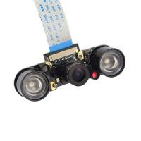 Raspberry Pi 3B-, 4B- ja Zero-yhteensopiva pimeänäkökamera kahdella infrapunavalolla. Erinomainen osa Raspberry-projektiisi, kun haluat tehokkaan pimeänäkökameran.