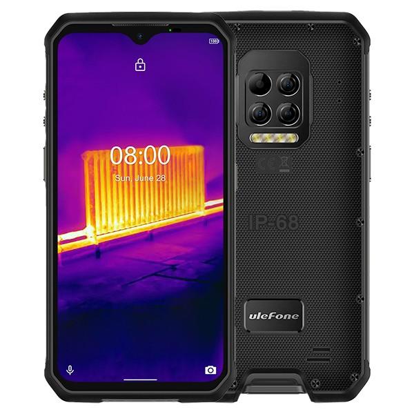 Ulefone Armor 9 tålig mobiltelefon med FLIR värmekamera