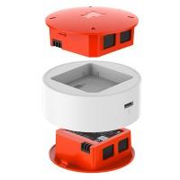 Xiaomi Mi Drone Mini Batteriset för minidrönare kommer med 2 reservbatterier, laddningsdocka och kabel.