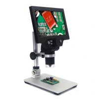Diel 1200x microscope with LCD screen