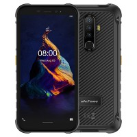 """Laadukas iskun- ja vedenkestävä IP68-suojattu älypuhelin mukavan kokoisella 5,7"""" näytöllä ja hyvällä akkukestolla. Android 10 ja 13MP kolmoiskamera."""