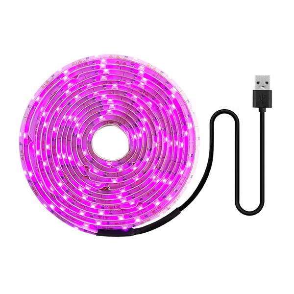 Coolo LED-kasvivalonauha USB-liittimellä 1-5m