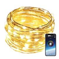 Dekorativa RGB-lampor med app där du kan välja mellan olika belysningslägen, timer med mera. Perfekt belysning för hemmet som du styr via din smartphone.