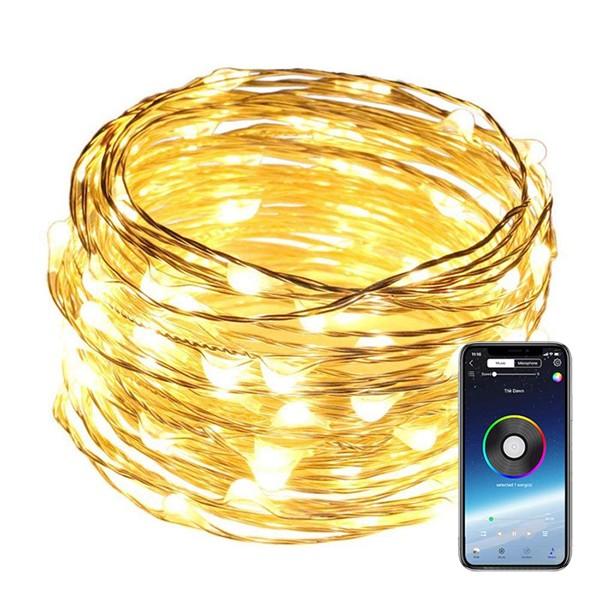 Dekorativa RGB-lampor med app 5-15m