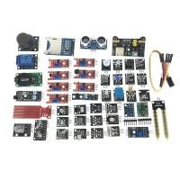 Modulpaket för Raspberry Pi eller Arduino. Ett utmärkt komplement till Arduino eller Raspberry Pi-projektet. Innehåller 45 olika moduler.