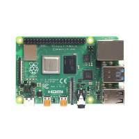 Raspberry Pi 4B är en kraftfull minidator som är lätt att anpassa. Bygg mångsidiga enheter från Raspberry efter eget tycke med hjälp av olika moduler.