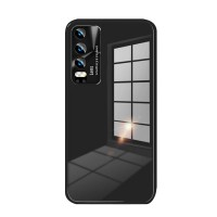 Huawei P30 silicone case with glass