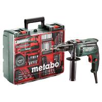 Laadukas ja tehokas Metabo SBE650 iskuporakone on yksi työmaan kovimmista laitteista. Tällä jämäkällä 650W johtoporakoneella poraat puuta, metallia ja tiiliä leikiten!