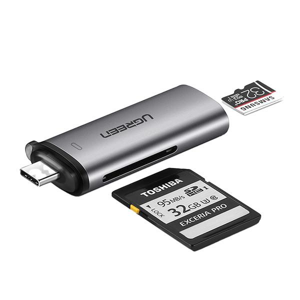 UGREEN USB Type-C / USB 3.0-minnskortsläsare