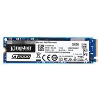 Kingston A2000 500 GB M.2 PCIe NVMe SSD är perfekt för att uppgradera din dator. Strömsnål, tålig mot vibrationer och riktigt snabb läs- och skrivhastighet.