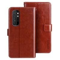 Xiaomi Note 10 Lite flipcover -suojakotelo on mainio valinta, sillä sen on varustettu korttipaikoilla ja setelitaskulla.