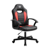 Fin liten gamingstol anpassad för barn. Trots sin lilla storlek så tål stolen upp till 100 kg vikt och med bättre storlek anpassad för barn så förbättras ergonomin.