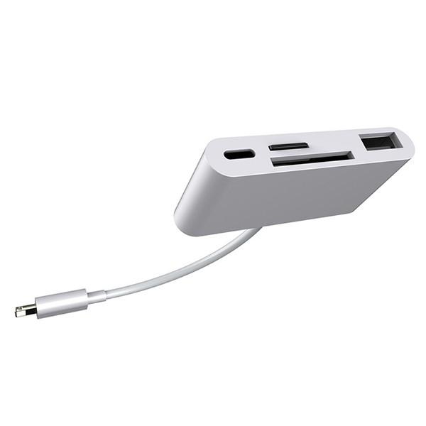 Lightning - SD/MicroSD/USB-adapter