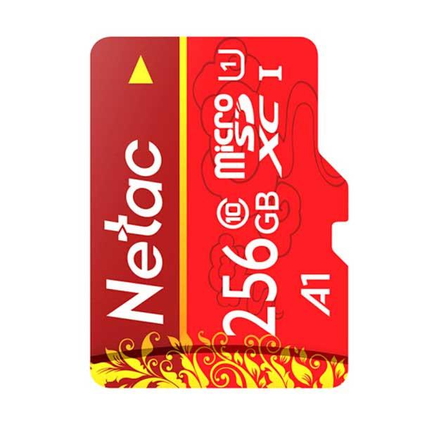 Netac 256GB Micro SDXC muistikortti