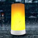Flammade bordslampa LED