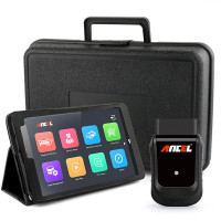 Ancel X5 OBD diagnostic tool OBD2 and tablet