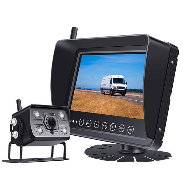 """Diel A8 Pro langaton IPX69 peruutuskamera ja 7"""" näyttö"""