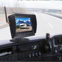 """Diel A8 Pro trådlös backkamera 7"""" skärm"""