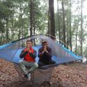 Treelink Traveler hängmatta i tältform