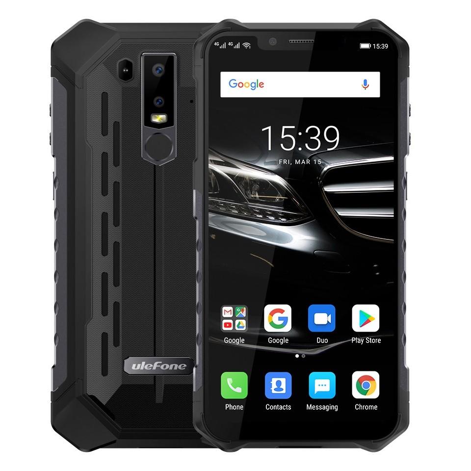 Outlet - Ulefone Armor 6E vandtæt og stødabsorberende smartphone