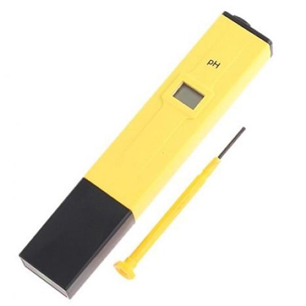 Veden pH -arvon mittari