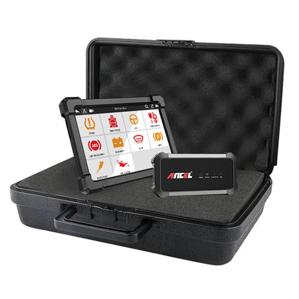 Ancel X7 OBD2 DTC-läsare och surfplatta
