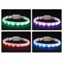 Purre hundehalsbånd RGB-LED