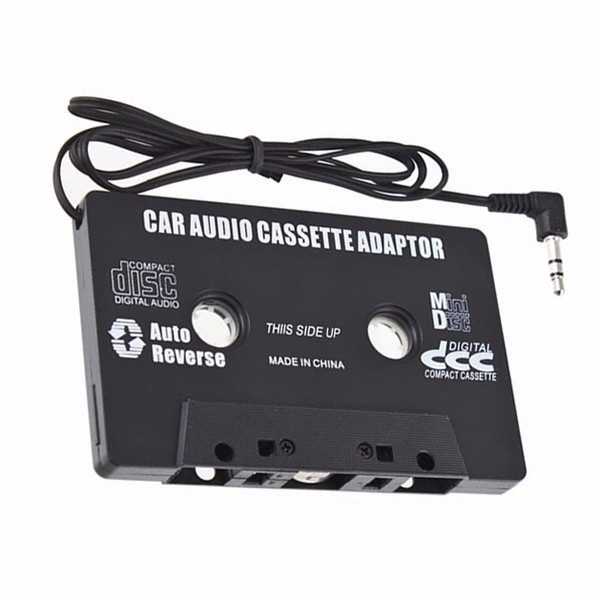 Kassette-adapter til bil 3,5 mm AUX