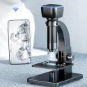 Diel digitalt WiFi-mikroskop 2000x