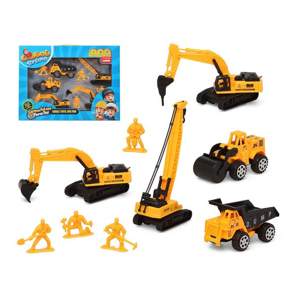 Rakennustyömaa-ajoneuvot -lelusarja