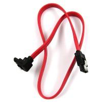 Med SATA kabeln fäster du hårddiskar, optiska enheter och andra SATA-krävande tillbehör för moderkortet.
